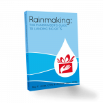 Cover image of the book Rainmaking - the Fundraiser's Guide To Landing Big Gifts